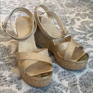 Jimmy Choo wedges size 38, good condition.
